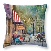 Summer In Cedarburg Throw Pillow