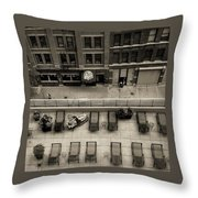 Summer In Chicago Throw Pillow
