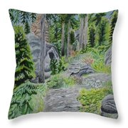 Summer In Game Throw Pillow