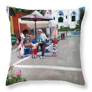 Summer In Hingham Throw Pillow