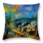 Summer In Mogimont Throw Pillow