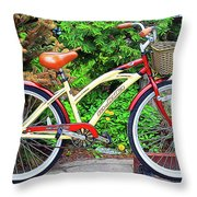 Summer In Stowe Throw Pillow