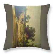 Summer In Sussex Throw Pillow