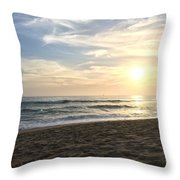Summer Is Here. Throw Pillow