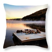 Summer Is Over Throw Pillow