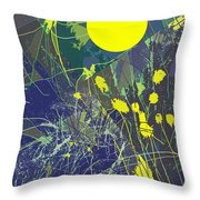 Summer Memories Throw Pillow