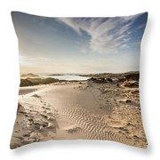 Summer Oasis Throw Pillow