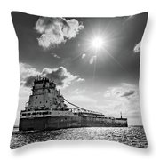 Summer Of The Great Republic   Throw Pillow by Fran Riley