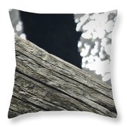Summer On The Dock Throw Pillow