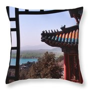 Summer Palace Or Yi He Yuan Throw Pillow