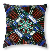 Summer Palace Patterns Throw Pillow