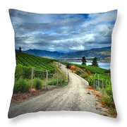 Summer Passages Throw Pillow