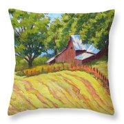 Summer Patterns Throw Pillow