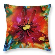 Summer Queen Throw Pillow