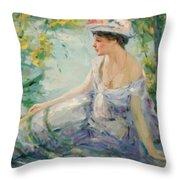 Summer Reverie Throw Pillow