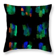 Summer Shadows 25 Throw Pillow