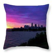 Summer Solstice Sunrise Throw Pillow