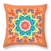 Summer Star Throw Pillow