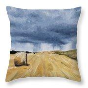 Summer Storms Throw Pillow