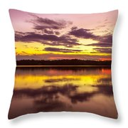 Summer Sunset 1 Throw Pillow