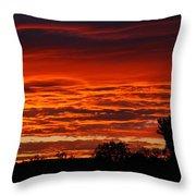 Summer Sunset 2 Throw Pillow