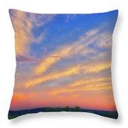 Retzer Nature Center - Summer Sunset #2  Throw Pillow