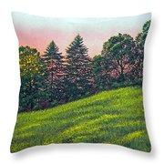Summer Sunset Throw Pillow