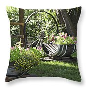 Summer Sweetness In Color Throw Pillow