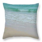 Summer Tide Throw Pillow