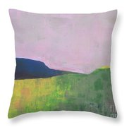Summer Valey Throw Pillow