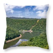Summer View At Lovers Leap Throw Pillow