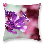 Summer Vine Throw Pillow