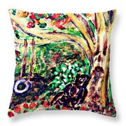 Summer Went By Too Quickly 2 Throw Pillow