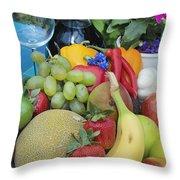 Summer Wine Throw Pillow