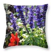 Summerflowers Throw Pillow