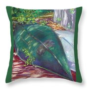 Summerime Overturned Throw Pillow