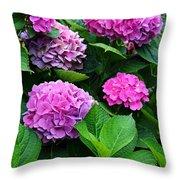 Summer's Breath -vertical Throw Pillow
