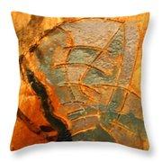 Summers Dream - Tile Throw Pillow