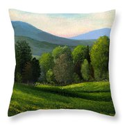 Summers Ending Throw Pillow