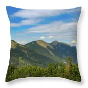 Summertime Alps In Germany Throw Pillow