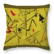 Summertime Concert Throw Pillow