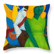 Summertime Forgotten Long Ago. Throw Pillow