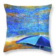 Summertime-iii Throw Pillow