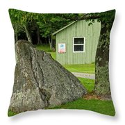 Summertime In The Northern Catskills Throw Pillow