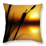 Summertime Whispers  Throw Pillow