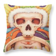Summoning The Ancestors Throw Pillow
