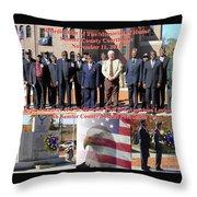 Sumter County Memorial Of Honor Throw Pillow