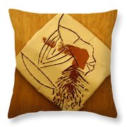 Sun - Tile Throw Pillow