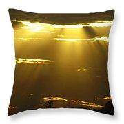 Sun 15 Throw Pillow