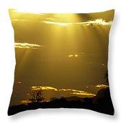Sun 16 Throw Pillow